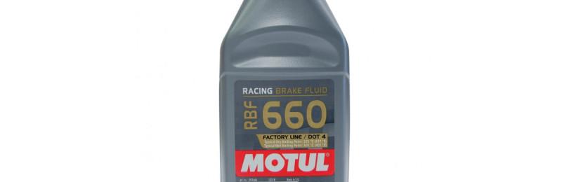 Особенности жидкости для тормозных гидравлических систем марки Motul RBF 660 BRAKE FLUID