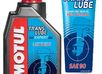 Трансмиссионное масло марки Motul TRANSLUBE 90 — для редуктора лодочного мотора