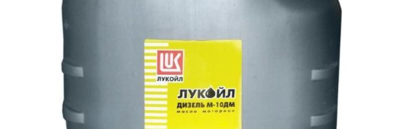 Технические характеристики масла марки Лукойл Дизель M-10ДM, его преимущества