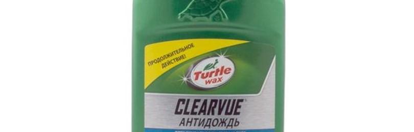 Антидождь марки Turtle Wax как гидрофобный полироль для стекол ТС