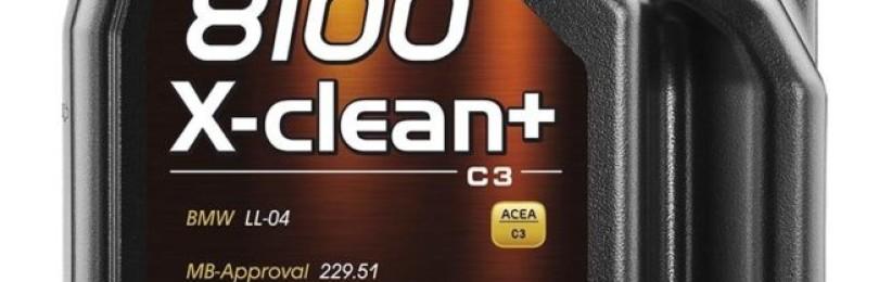 Масла марки 8100 X-clean 5W30 и  Motul 8100 X-clean+ 5W30 — за бережное, экологически чистое содержание двигателя