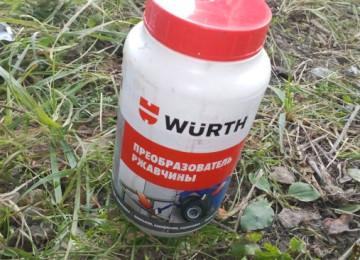 Полезные советы по применению преобразователя ржавчины марки Wurth