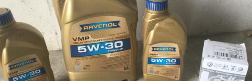 Моторное масло марки RAVENOL VMP SAE 5W30 в меняющихся условиях эксплуатации
