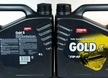 Моторное масло марки TEBOIL GOLD S5W40 — для любого времени года