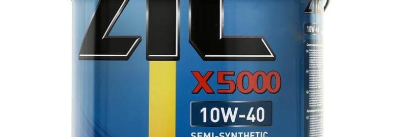 Защитите дизельный двигатель при помощи продукта с передовыми технологиями ZIC X5 Diesel 10W40