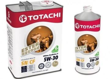 Экологичное премиум-масло марки TOTACHI ULTIMA ECODRIVE F 5W30 и его свойства