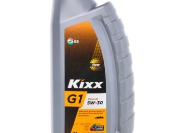 Смазочное вещество с экономным расходом: моторное масло марки Kixx G1 Dexos1 5W30