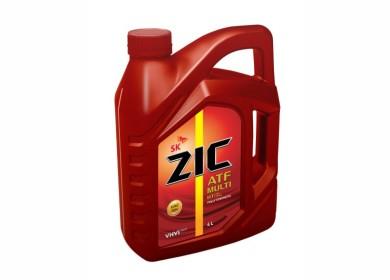 Состав средства на молекулярном уровне: масло марки ZIC ATF MULTI HT