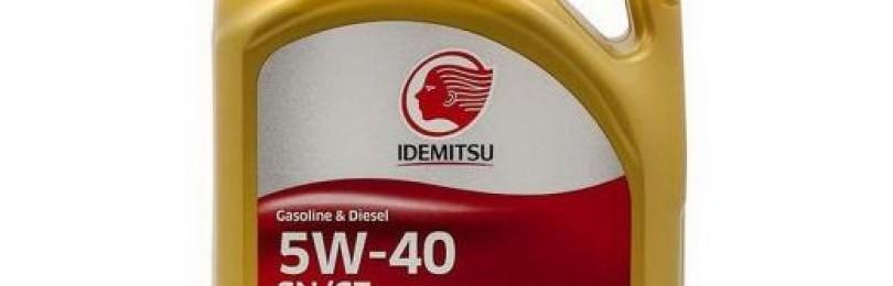 Отсутствие рекламы — не помеха: масло марки IDEMITSU 5W40 SN/CF
