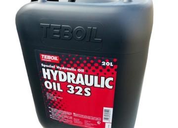Масло марки TEBOIL HYDRAULIC OIL 32S — для самых сложных климатических условий