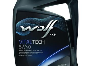 Автомобильное масло марки WOLF VITALTECH 5W40 — с учетом разной производительности моторов