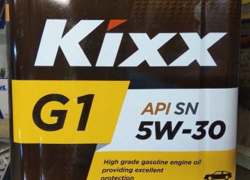 Универсальный синтетический продукт марки Kixx G1 5W30 — не только для ТС