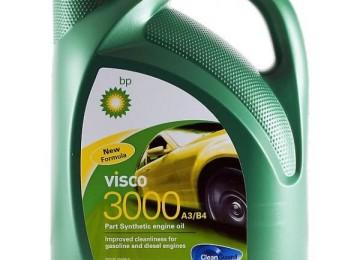 Работоспособность надежно охраняется чистотой: моторное масло марки BP Visco 3000 A3/B4 10W40