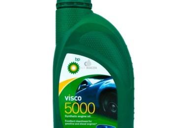 Обзор моторного масла компании British Petroleum (ВР) марки Visco 5000 5W40